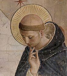 tonzurat-viselo-szerzetes